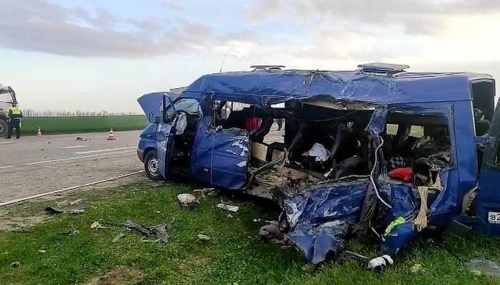 Пять детей погибли в крупном ДТП в Ставропольском крае