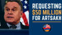 US Congressman calls for $50 million aid to Artsakh