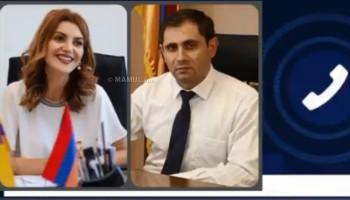 В сети распространяется аудиозапись между Дианой Гаспарян и Сурен Папикяном