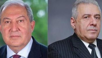 ՀՀ նախագահը հեռախոսազրույց է ունեցել Վաղարշակ Հարությունյանի հետ