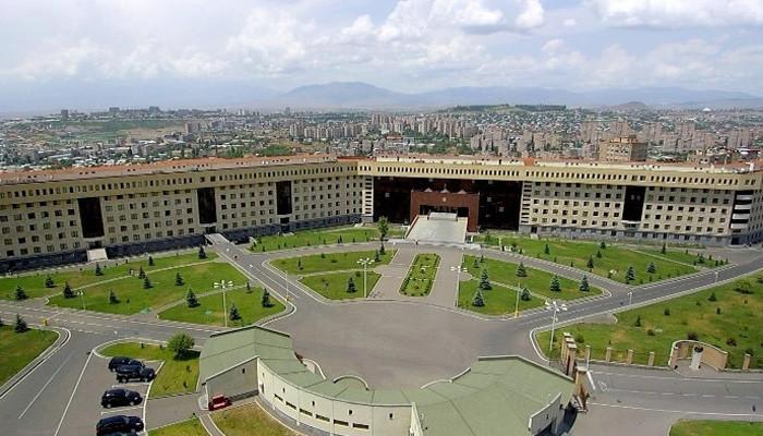 Минобороны Армении: Армянская сторона не открывала огонь