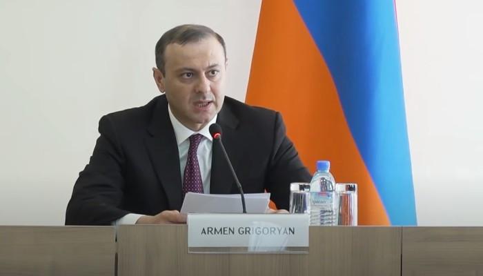 Արմեն Գրիգորյանն ընդունել է Հայաստանում հավատարմագրված դեսպաններին