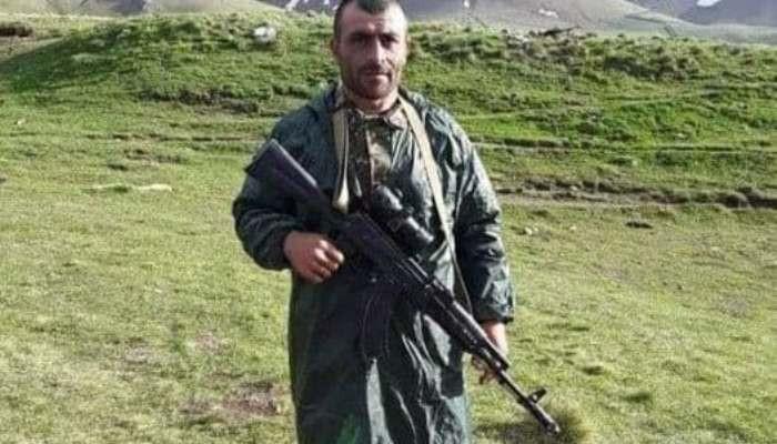 Погибший сегодня старший лейтенант Айк Геворкян (Кявар)