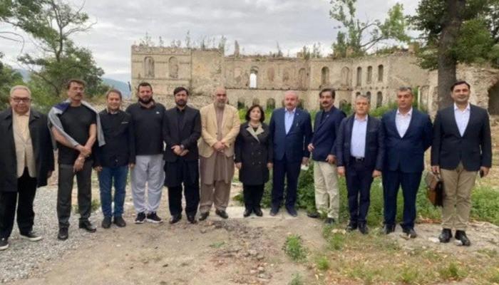 Спикеры парламентов Азербайджана, Турции и Пакистана посетили Шуши
