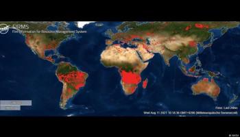 Երկրի վրա այս պահին մոլեգնող հրդեհները՝ արբանյակից