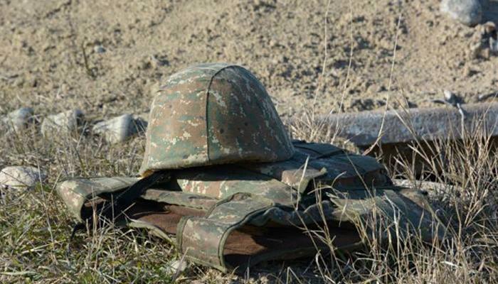 От выстрела противника на участке Ерасха погиб армянский военнослужащий