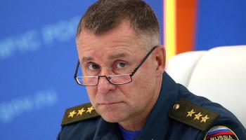 Названо точное место гибели главы МЧС Зиничева