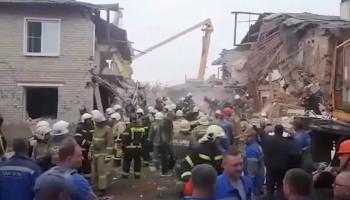 В жилом доме в Липецкой области произошел взрыв газа, погибли три человека