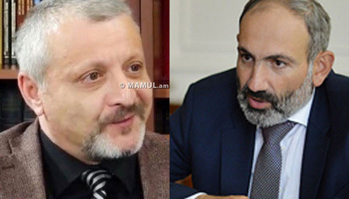 """Souren Sourenyants: """"Is Pashinyan ready to pay that price?"""""""