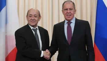 Лавров и Ле Дриан обсудили ситуацию в Нагорном Карабахе