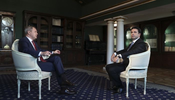Интервью Алена Симоняна телеканалу #РБК