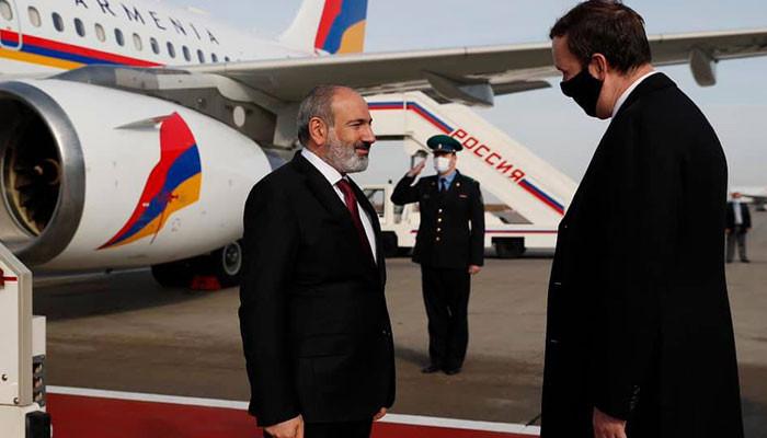 Никол Пашинян прибыл в Россию