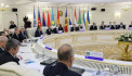 The session of the Council of Foreign Ministers of the CIS member states took place in an enlarged format