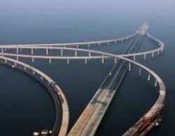 World's Longest Sea Bridge in China: The Qingdao Haiwan Bridge